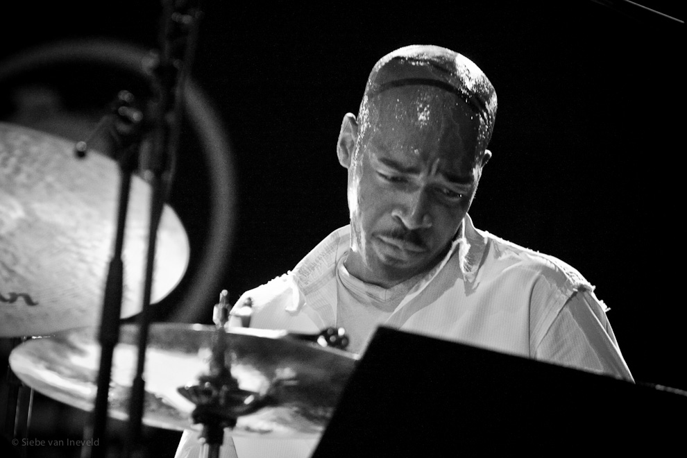 Eric Harland, Drums. SFJazz Collective. North Sea Jazz 2007, Rotterdam, The Netherlands.
