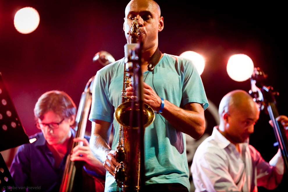 Joshua Redman Double Trio with Matt Penman and Reuben Rogers. North Sea Jazz 2010.