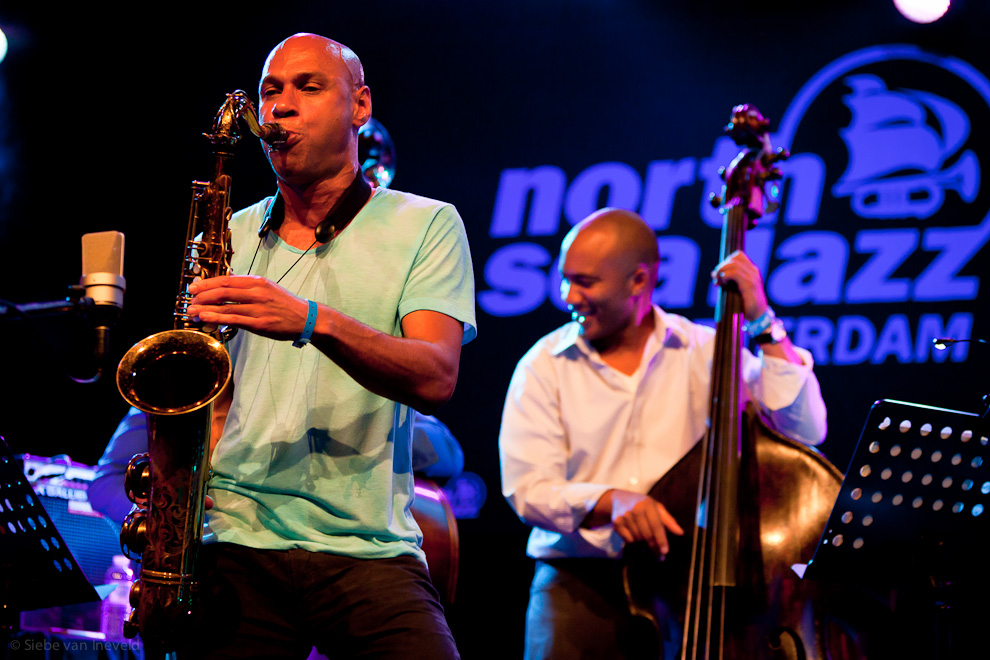 Joshua Redman Double Trio. North Sea Jazz 2010, Rotterdam, The Netherlands.