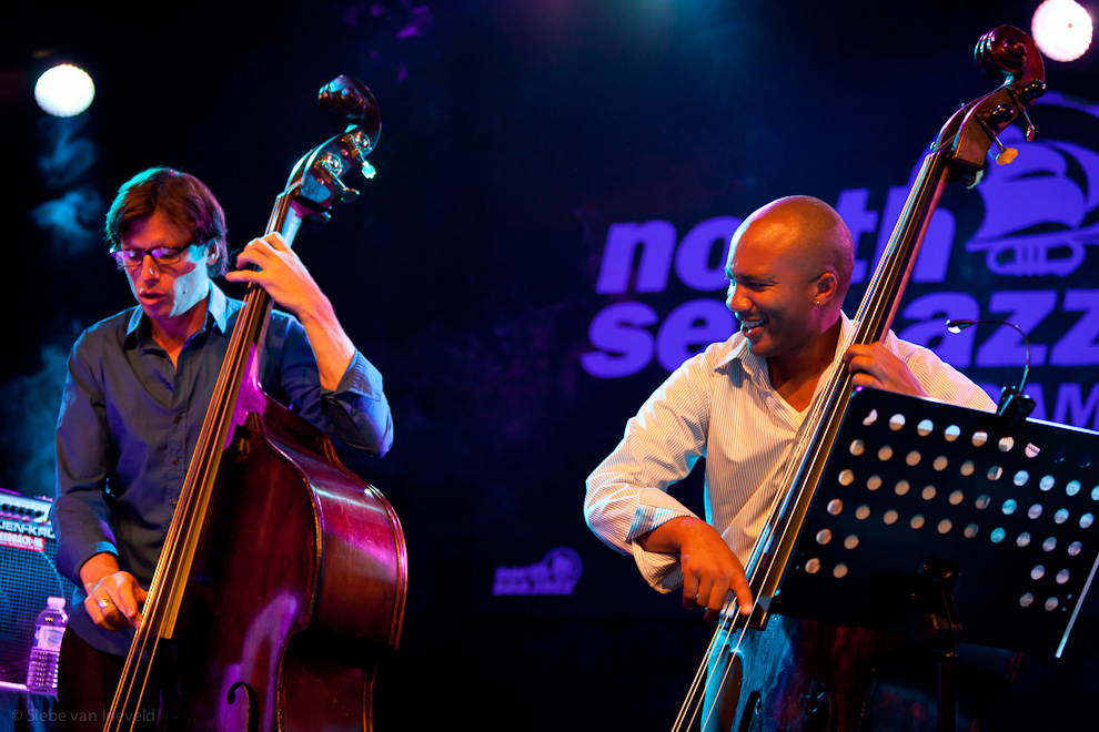 Joshua Redman Double Trio with Matt Penman and Reuben Rogers on bass. North Sea Jazz 2010.