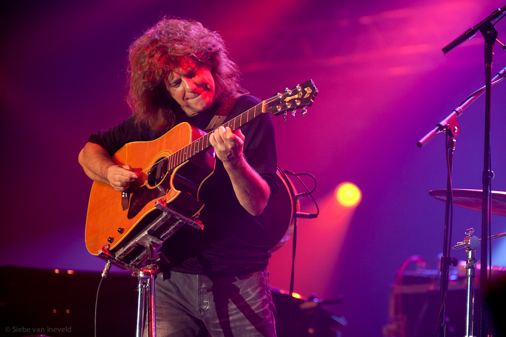 Guitarist Pat Metheny with his group at North Sea Jazz 2010, Rotterdam.