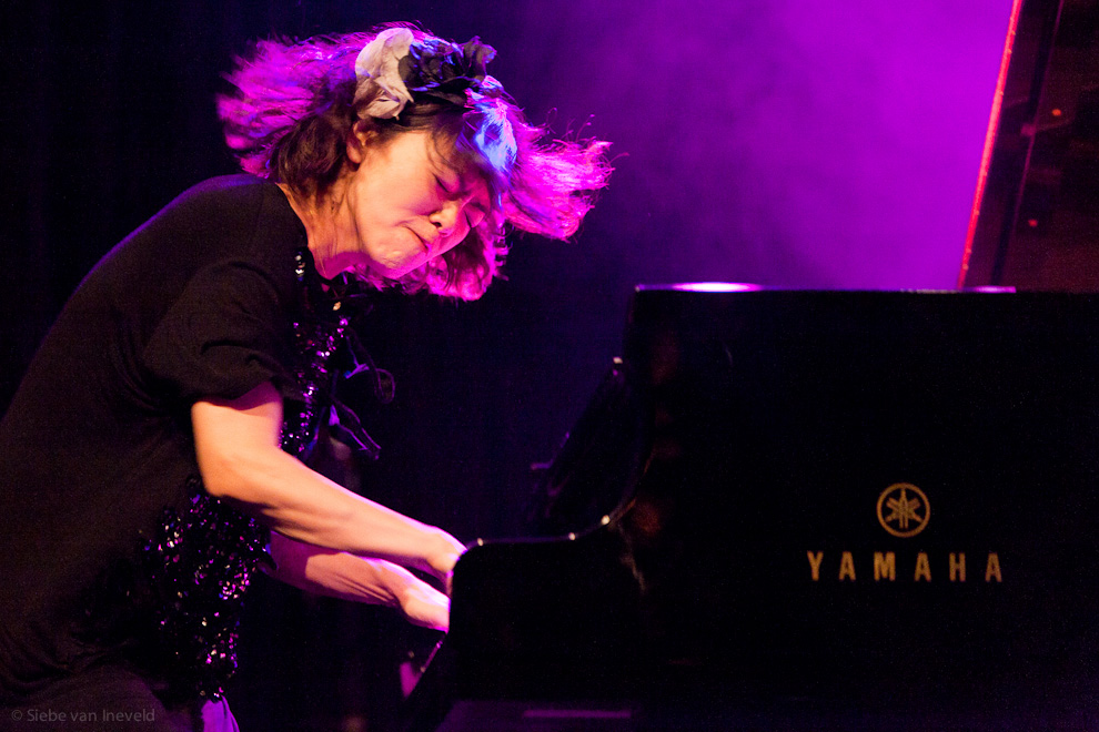 Hiromi Uehara with The Stanley Clarke Group. North Sea Jazz 2010, Rotterdam.