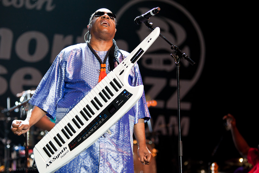 Photo of Stevie Wonder The Best After Match, North Sea Jazz