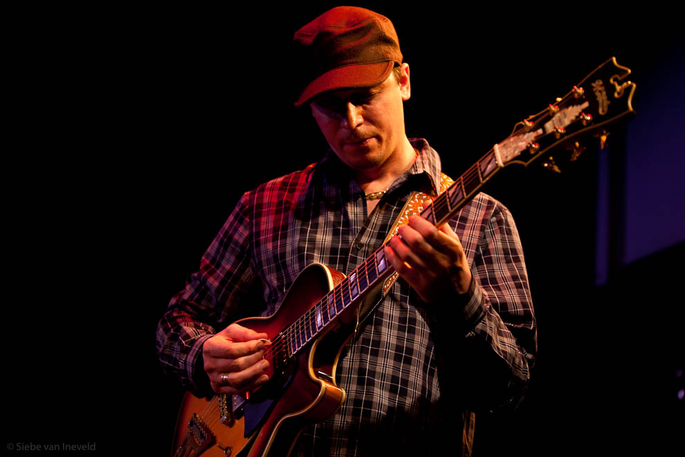 Kurt Rosenwinkel with his Standards Trio