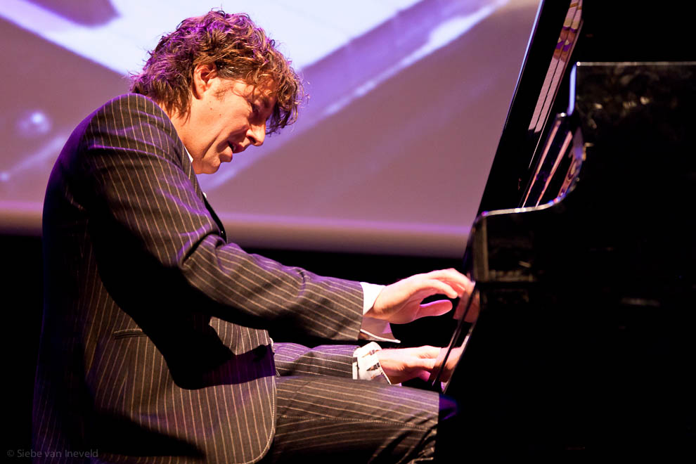 Pianist Michiel Borstlap, Jazz International Rotterdam
