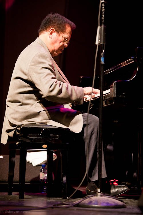 Pianist Cedar Walton, Jazz International Rotterdam 2010